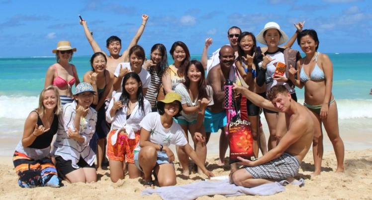 InterVarsity ISM at Waimanalo Beach - September 5, 2015