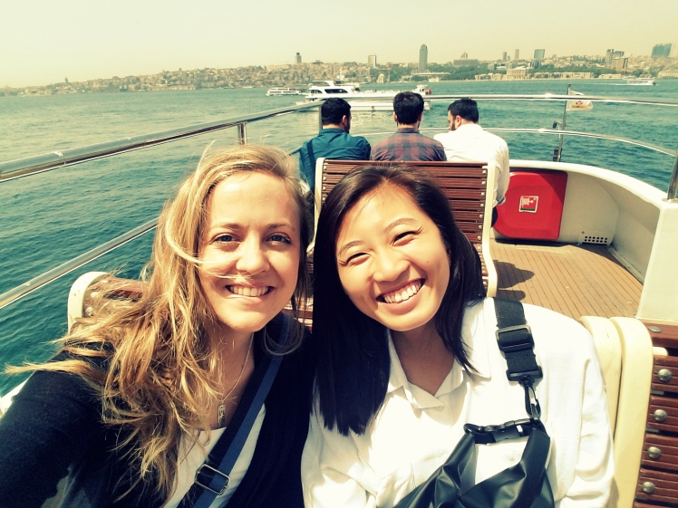 me & brenda ferry ride