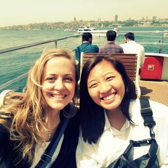 me & brenda ferry ride-001